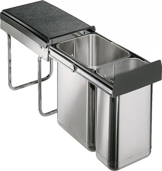 Wesco Einbau-Abfallsammler Edel-Double 30 DT