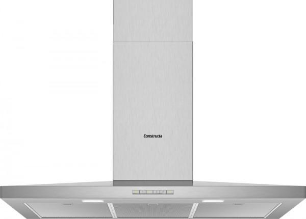 Constructa CD629250 Wandhaube Walmdach SlimLine 90cm Edelstahl