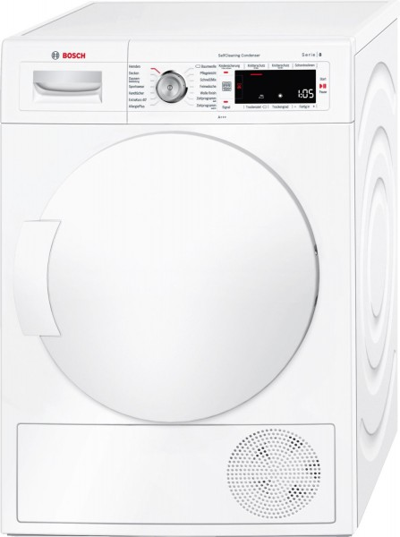 Bosch WTW845W0 Wärmepumpentrockner A+++ 8kg