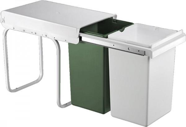 Wesco Einbau-Abfallsammler Double Boy 30DT