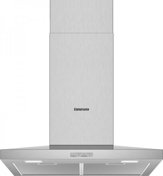 Constructa CD626650 Wandhaube Walmdach SlimeLine 60cm Edelstahl