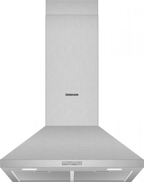 Constructa CD616650 Wandhaube Walmdach Design 60cm Edelstahl