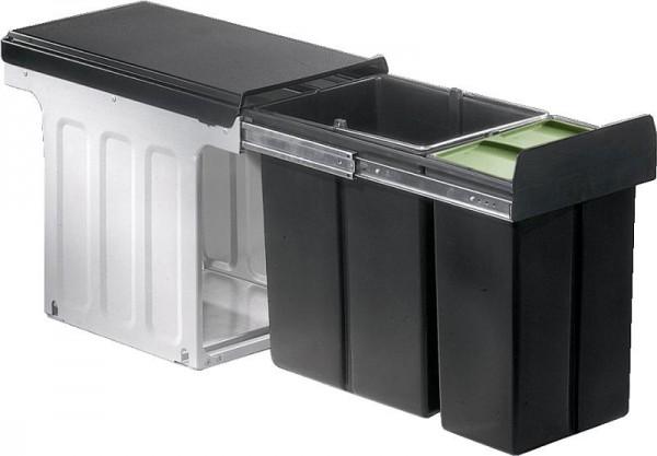 Wesco Einbau-Abfallsammler Profiline Bio-Double 30 DT