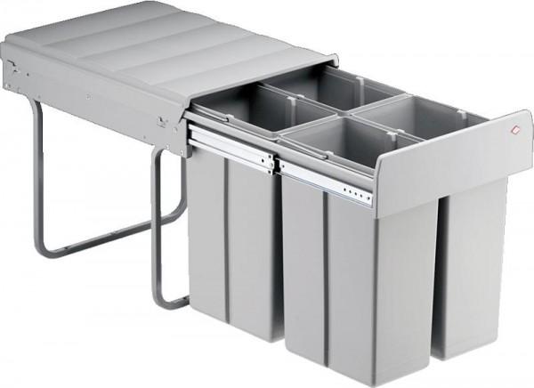 Wesco Einbau-Abfallsammler Bio Quartett 40 DT