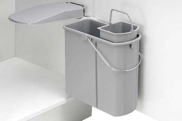 Wesco Einbau-Abfallsammler für Schranktür 19 Liter BIO