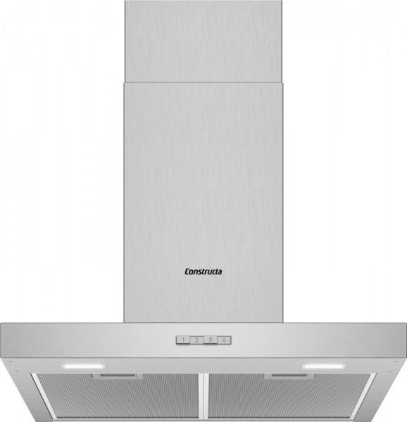 Constructa CD636650 Wandhaube Box Design 60cm Edelstahl
