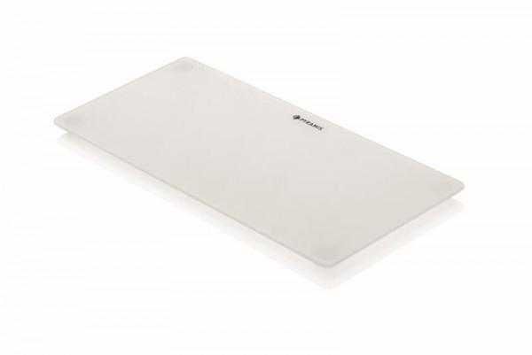 Pyramis Glasschneidbrett weiß 20x43,5cm