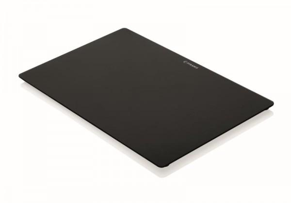 Pyramis Glasschneidbrett schwarz 30,5 x 49cm