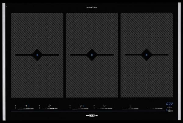 Oranier FLI 2088 bc Flächen-Induktions-Kochfeld Grillfunktion Bluetooth be-cook