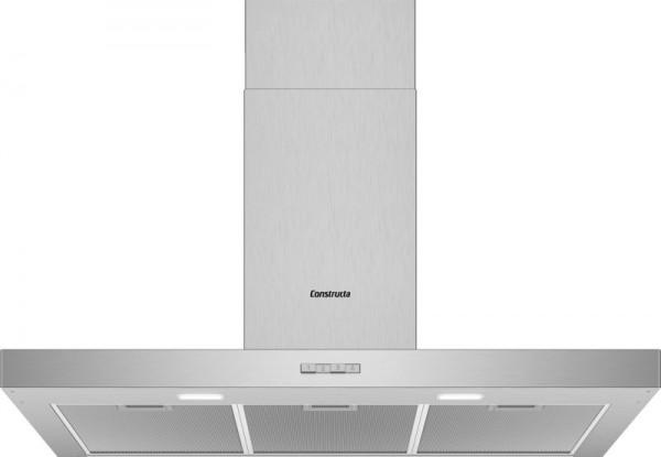 Constructa CD639650 Wandhaube Box Design 90cm Edelstahl