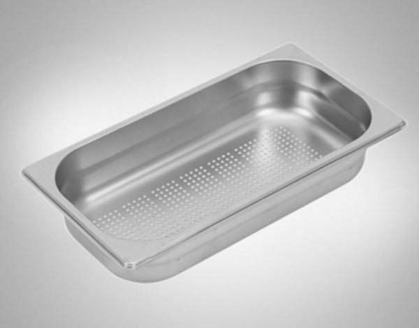 Gastronormbehälter 1/3 gelocht Edelstahl 65 mm tief 0837 für GENEA, MERA, BELA