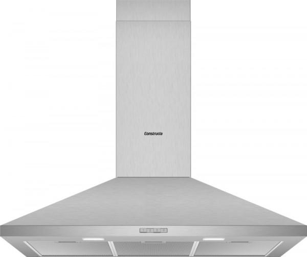 Constructa CD619650 Wandhaube Walmdach Design 90cm Edelstahl