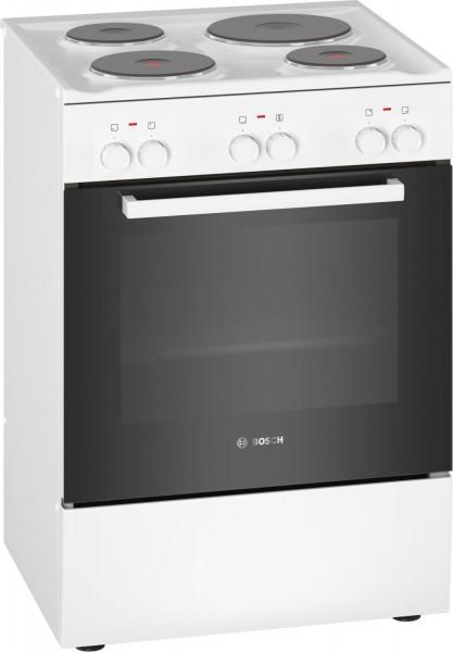 Bosch HQA050020 Elektro Standherd mit Massekochfeld 60cm A
