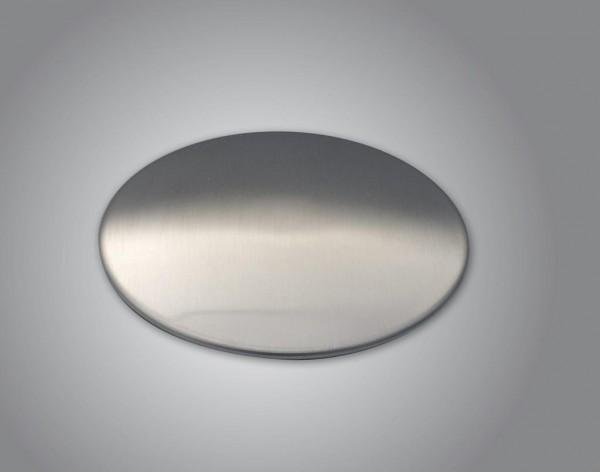 Sink Cover Ablaufabdeckung Edelstahl gebürstet matt