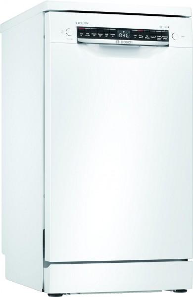 Bosch SPS4ELW00D Stand Geschirrspüler HomeConnect 45cm Weiß EXCLUSIV