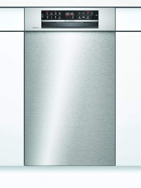 Bosch SPU6ZMS35E Unterbau Geschirrspüler Zeolith Edelstahl 45cm