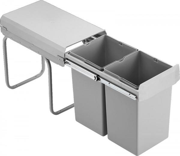 wesco einbau abfallsammler double boy deluxe vollauszug 755601 85. Black Bedroom Furniture Sets. Home Design Ideas