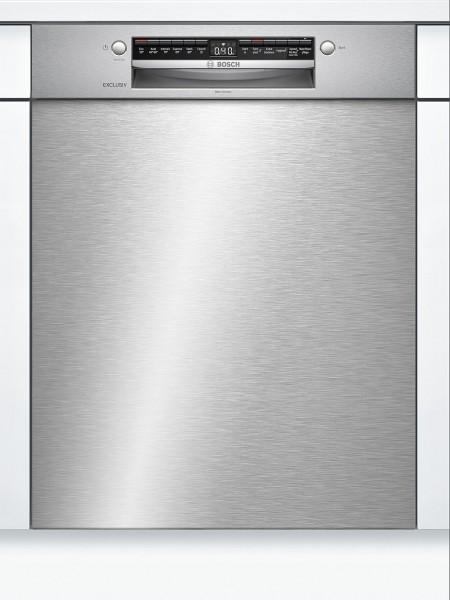 Bosch SMU4HBS00D Unterbau Geschirrspüler HomeConnect 60cm Edelstahl EXCLUSIV