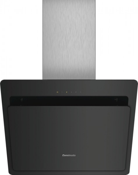 Constructa CD686860 Kopffreihaube mit Glasschirm 60cm Schwarz