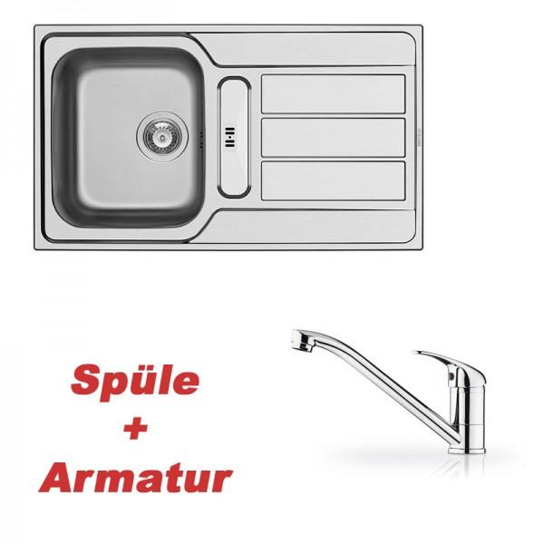 Pyramis ATHENA (86x50) 1 1/4B 1D  und Armatur PRIMA