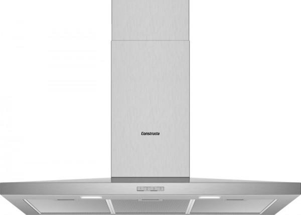 Constructa CD629650 Wandhaube Walmdach SlimeLine 90cm Edelstahl