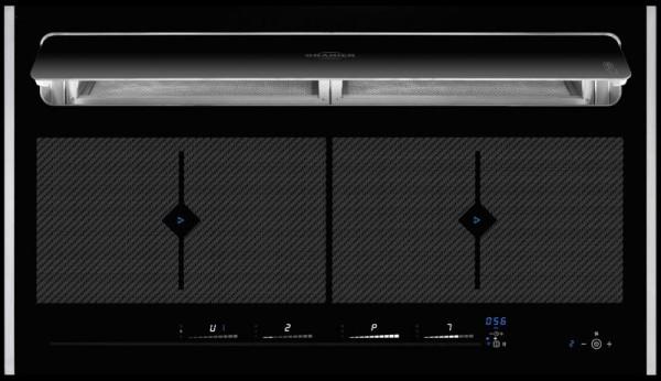 Oranier KFL 2094 bc Flächen-Induktionskochfeld Umluft mit Bluetooth be-cook