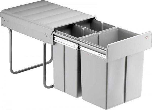 Wesco Einbau-Abfallsammler Bio Trio Maxi 40 DT